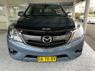 2017 Mazda BT-50 XTR Blue Reflex Sports Automatic Utility - Extended Cab.