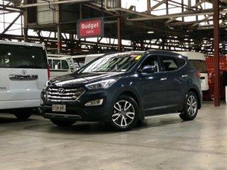 2013 Hyundai Santa Fe DM MY13 Elite Blue 6 Speed Sports Automatic Wagon.