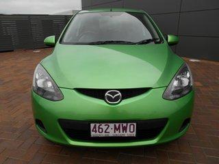 2009 Mazda 2 DE10Y1 Neo Green 5 Speed Manual Hatchback