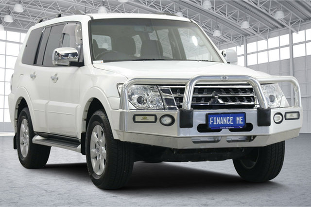 Used Mitsubishi Pajero NX MY17 GLX Victoria Park, 2017 Mitsubishi Pajero NX MY17 GLX White 5 Speed Sports Automatic Wagon