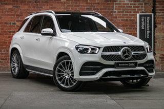 2020 Mercedes-Benz GLE-Class V167 800+050MY GLE300 d 9G-Tronic 4MATIC Polar White 9 Speed.