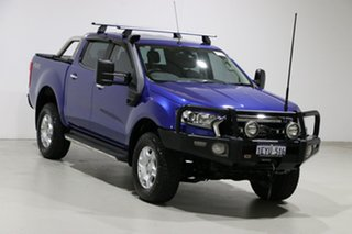 2015 Ford Ranger PX MkII XLT 3.2 (4x4) Blue 6 Speed Manual Double Cab Pick Up