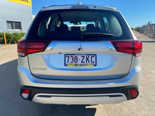 2019 Mitsubishi Outlander ZL MY20 ES 2WD Silver/140120 6 Speed Constant Variable Wagon