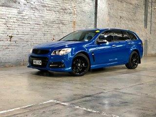 2013 Holden Commodore VF MY14 SS V Sportwagon Blue 6 Speed Sports Automatic Wagon.