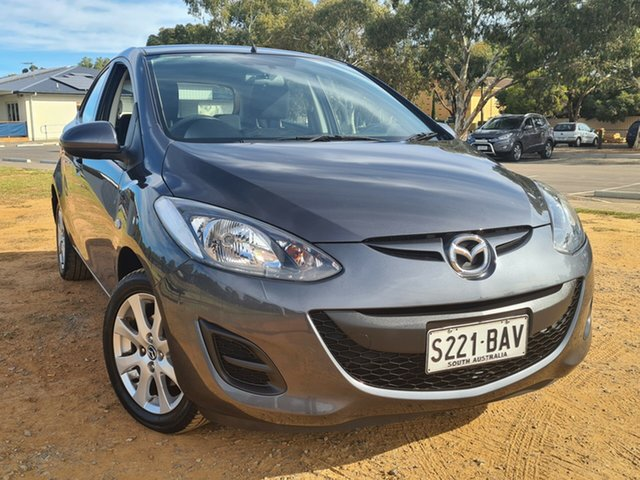 Used Mazda 2 DE10Y2 MY13 Neo St Marys, 2013 Mazda 2 DE10Y2 MY13 Neo Grey 5 Speed Manual Hatchback