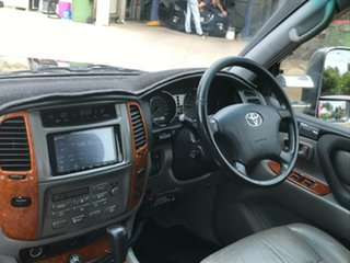 2005 Toyota Landcruiser UZJ100R Sahara Red 5 Speed Automatic Wagon