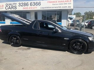 2012 Holden Commodore SS Thunder Black 5 Speed Manual Utility