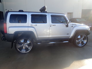 2008 Hummer H3 Adventure Silver 5 Speed Manual Wagon