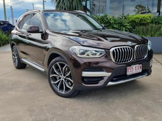 2017 BMW X3 xDrive30d Brown 8 Speed Auto Active Sequential Wagon.