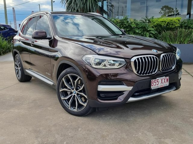 Used BMW X3 xDrive30d Beaudesert, 2017 BMW X3 xDrive30d Brown 8 Speed Auto Active Sequential Wagon