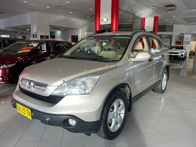 Used Honda CR-V RE MY2007 Extra 4WD Artarmon, 2008 Honda CR-V RE MY2007 Extra 4WD Gold 5 Speed Automatic Wagon