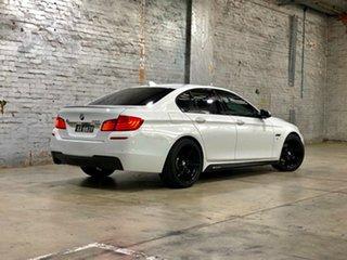 2013 BMW 5 Series F10 LCI 528i Steptronic Luxury Line White 8 Speed Sports Automatic Sedan