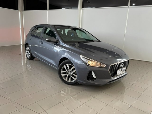 Used Hyundai i30 PD MY18 Active Deer Park, 2017 Hyundai i30 PD MY18 Active Grey 6 Speed Sports Automatic Hatchback