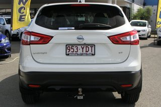 2016 Nissan Qashqai J11 ST Ivory Pearl 1 Speed Constant Variable Wagon
