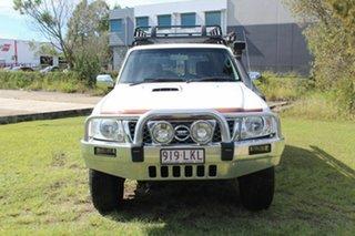 2008 Nissan Patrol GU 6 MY08 ST White 4 Speed Automatic Wagon.