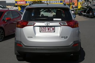 2015 Toyota RAV4 ALA49R MY14 GX AWD Silver Pearl 6 Speed Sports Automatic Wagon
