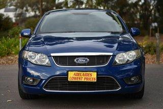 2009 Ford Falcon FG G6 Blue 6 Speed Sports Automatic Sedan.