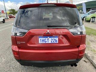 2008 Mitsubishi Outlander ZG MY08 VR (7 Seat) Red 6 Speed Auto Sports Mode Wagon.
