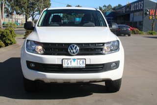 2015 Volkswagen Amarok 2H MY15 TDI420 Core Edition (4x4) White 8 Speed Automatic Dual Cab Utility.