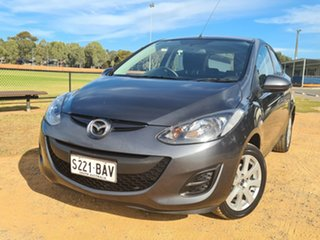 2013 Mazda 2 DE10Y2 MY13 Neo Grey 5 Speed Manual Hatchback.
