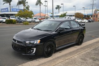 2017 Mitsubishi Lancer CF MY17 ES Sport Black 6 Speed CVT Auto Sequential Sedan