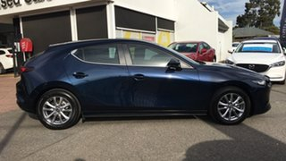 2019 Mazda 3 BP2H7A G20 SKYACTIV-Drive Pure Blue 6 Speed Sports Automatic Hatchback