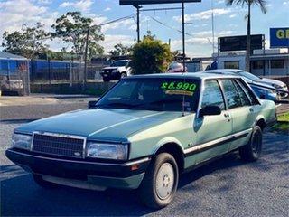 1986 Ford Fairlane ZL Crystal Mint 3 Speed Automatic Sedan.