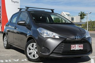 2018 Toyota Yaris NCP130R Ascent Graphite 4 Speed Automatic Hatchback.