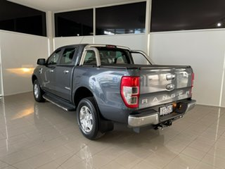2016 Ford Ranger PX MkII XLT Double Cab 4x2 Hi-Rider Grey 6 Speed Sports Automatic Utility.