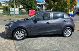 2018 Mazda 2 DJ2HAA Maxx SKYACTIV-Drive Meteor Grey 6 Speed Sports Automatic Hatchback.