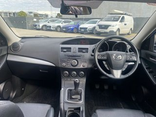2013 Mazda 3 BL10L2 MY13 SP25 Blue 6 Speed Manual Hatchback