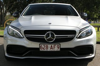 2018 Mercedes-Benz C-Class A205 808MY C63 AMG SPEEDSHIFT MCT S Silver 7 Speed Sports Automatic