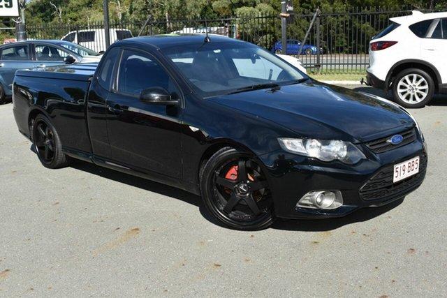 Used Ford Falcon FG MK2 XR6 Underwood, 2012 Ford Falcon FG MK2 XR6 Black 6 Speed Manual Utility