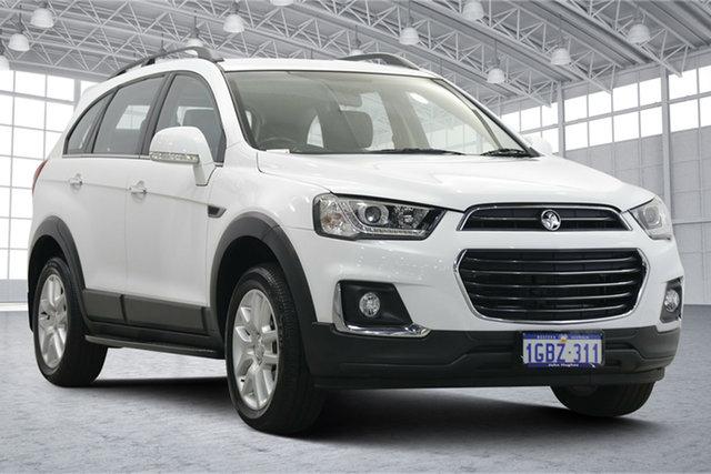 Used Holden Captiva CG MY16 Active 2WD Victoria Park, 2016 Holden Captiva CG MY16 Active 2WD White 6 Speed Sports Automatic Wagon