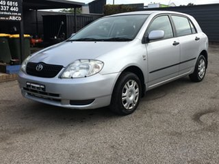 2001 Toyota Corolla ZZE122R Ascent Silver 5 Speed Manual Hatchback
