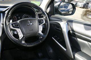 2017 Mitsubishi Pajero Sport MY16 Exceed (4x4) 7 Seat Pitch Black & Sterling Silver 8 Speed