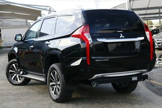 2017 Mitsubishi Pajero Sport MY16 Exceed (4x4) 7 Seat Pitch Black & Sterling Silver 8 Speed.