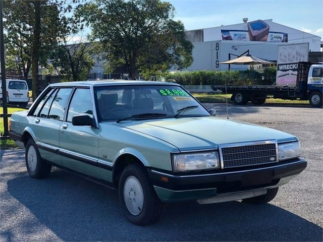 Used Ford Fairlane ZL Archerfield, 1986 Ford Fairlane ZL Chystal Mint 3 Speed Automatic Sedan