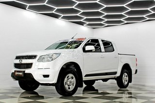 2015 Holden Colorado RG MY16 LS (4x2) White 6 Speed Automatic Crew Cab Pickup