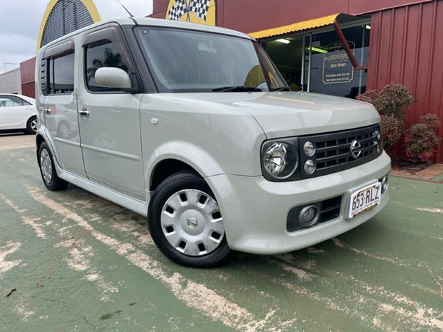 Used Nissan Cube YZ11 Toowoomba, 2005 Nissan Cube YZ11 Grey Constant Variable Wagon