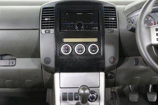 2012 Nissan Navara D40 MY12 ST (4x4) Blue 6 Speed Manual Dual Cab Pick-up
