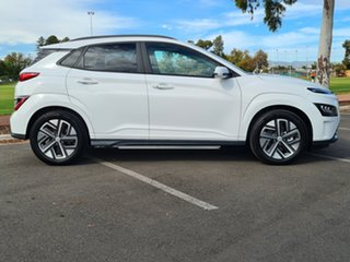 2021 Hyundai Kona Os.v4 MY21 electric Highlander Atlas White 1 Speed Reduction Gear Wagon.