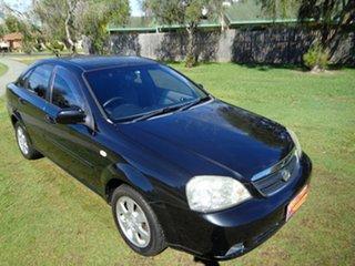 2008 Holden Viva JF MY09 Black 5 Speed Manual Sedan