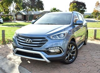 2016 Hyundai Santa Fe DM3 MY17 30 2WD Special Edition Blue 6 Speed Sports Automatic Wagon.