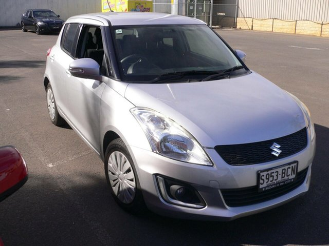 Used Suzuki Swift FZ MY14 GL Navigator St Marys, 2014 Suzuki Swift FZ MY14 GL Navigator Silver 4 Speed Automatic Hatchback