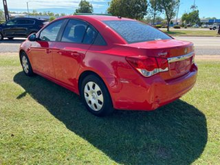 2011 Holden Cruze JH Series II MY11 CD Red 6 Speed Sports Automatic Sedan