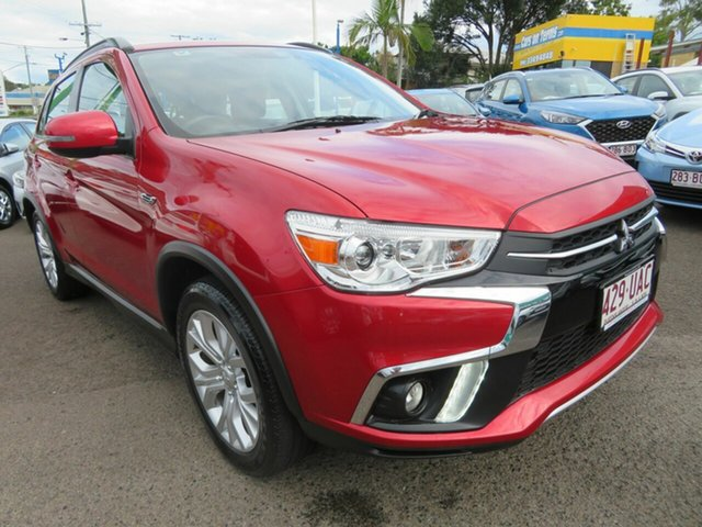 Used Mitsubishi ASX XC MY19 ES 2WD ADAS Mount Gravatt, 2019 Mitsubishi ASX XC MY19 ES 2WD ADAS Red 1 Speed Constant Variable Wagon