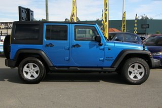 2016 Jeep Wrangler JK MY2016 Unlimited Sport Hydro Blue/matching 5 Speed Automatic Softtop