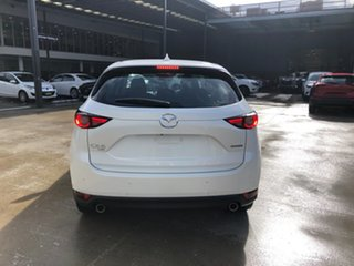2021 Mazda CX-5 KF4WLA GT SKYACTIV-Drive i-ACTIV AWD Snowflake White 6 Speed Sports Automatic Wagon