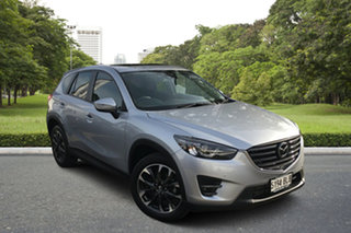 2016 Mazda CX-5 KE1022 Akera SKYACTIV-Drive AWD Billet Silver 6 Speed Sports Automatic Wagon.